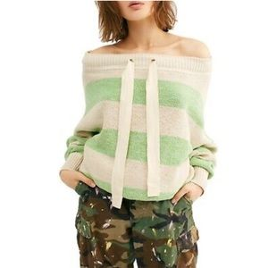 Free People Cassidy Off-shoulder Sweater